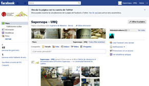 Facebook del Programa Supersopa